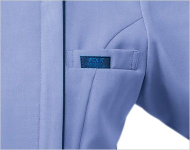 7051SC FOLK(フォーク) メンズ ジップスクラブ(男性用) 箱ポケット付き
