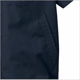 自重堂JAWIN 54010 [春夏用]空調服 制電 半袖ブルゾン ポケット