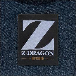 自重堂 75600 [春夏用]Z-DRAGON ストレッチデニム長袖ジャンパー 消臭&抗菌テープ