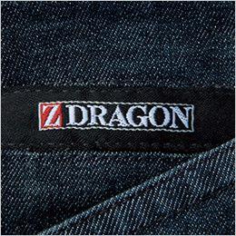 自重堂Z-DRAGON 75602 [春夏用]ストレッチデニムノータックカーゴパンツ ワンポイント