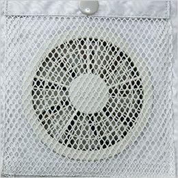 KU9054F [春夏用]空調服 フルハーネス対応空調服(プラスチックドットボタン) ポリ100% ファンの脱落防止用メッシュ