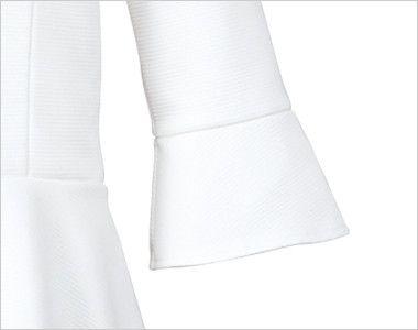 EWT631 enjoy 七分袖プルオーバー 無地 シャープで美しい立体感