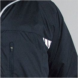 1625 TS DESIGN ライトウォーム ウインタージャケット(男女兼用) 反射プリント
