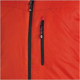1826 TS DESIGN 防寒 メガヒートライトウォームジャケット(男女兼用) ファスナーポケット