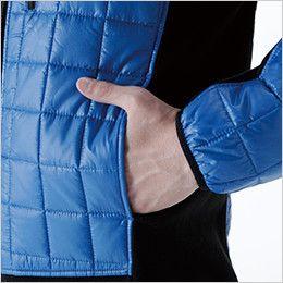 4226 TS DESIGN [秋冬用]マイクロリップロングスリーブジャケット(男女兼用) ポケット