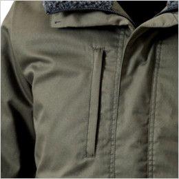 5126 TS DESIGN 綿100%ライトウォームジャケット(男性用) ファスナーポケット付