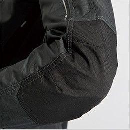 84636 TS DESIGN ストレッチ タフワークジャケット(男女兼用) 肘当て二重使い