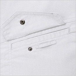 ジーベック 1695 長袖シャツ(女性用) ネムホルダーループ付き