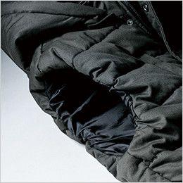 ジーベック 213 現場服 綿100% 防寒ベスト ゴム入り