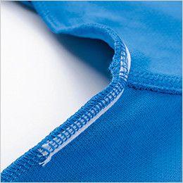 ジーベック 6160 カラーライダース半袖ジップアップシャツ(男女兼用) 消臭テープ付き