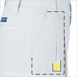 ジーベック 9656 [春夏用]クールボディ ツータック ラットズボン 内コインポケット付き