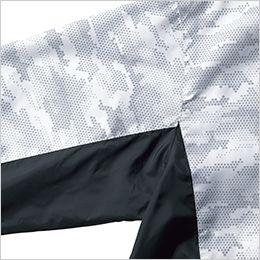 ジーベック XE98005 [春夏用]空調服 迷彩長袖ブルゾン ポリ100% 配色使用