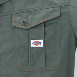 21-1401 ディッキーズ 長袖ツナギ ポケット