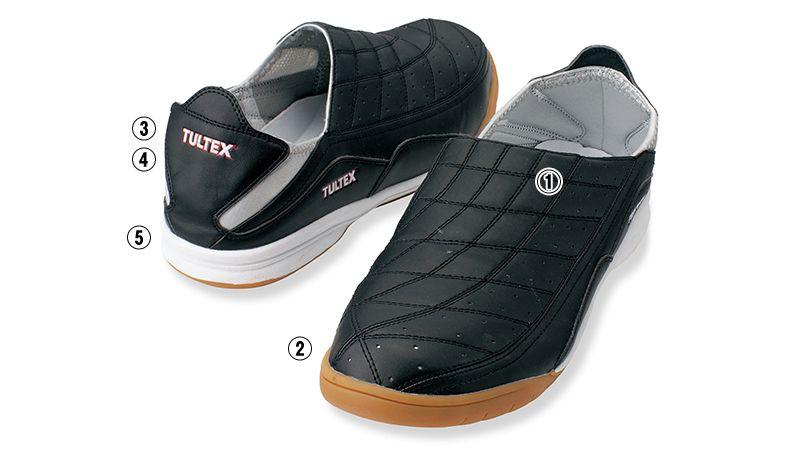 AZ51604 アイトス タルテックス 安全靴 スチール先芯 商品詳細・こだわりPOINT