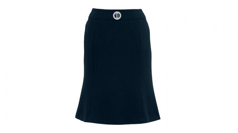 BONMAX AS2256 [通年]トリクシオンヘリンボーン マーメイドスカート 無地 商品詳細・こだわりPOINT