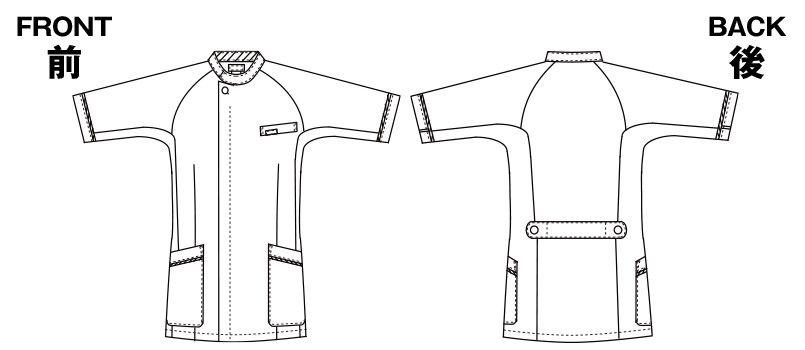 1014CR FOLK(フォーク) メンズケーシー(男性用) ハンガーイラスト・線画