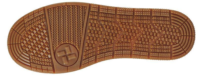 ジーベック 85409 キャンパスセフティシューズ 樹脂先芯 アウトソール・靴底