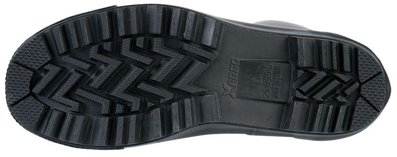 ジーベック 85718 セフティ長靴 スチール先芯 アウトソール・靴底