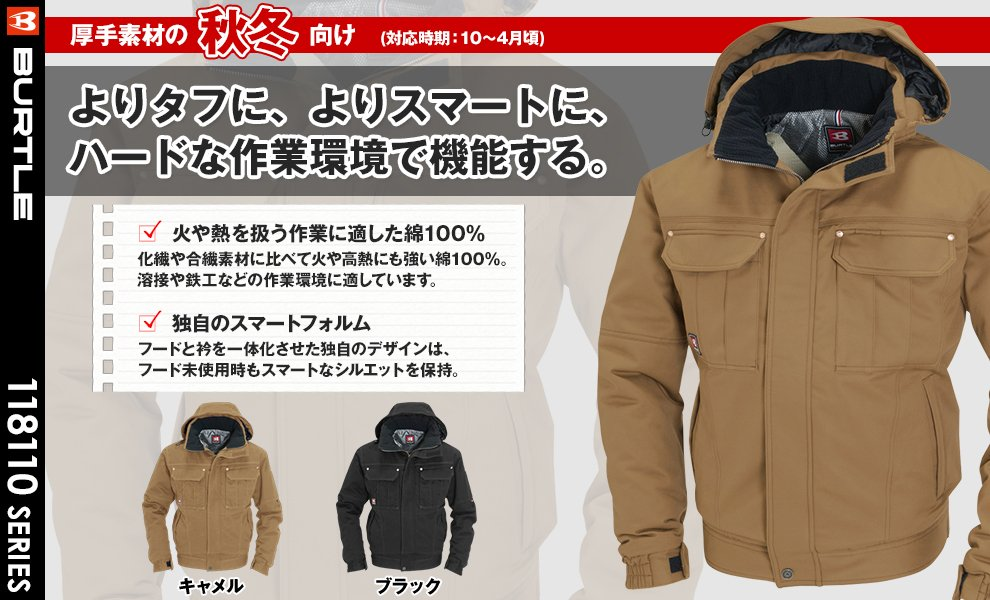 8110 防寒ジャケット