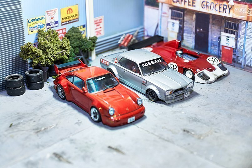 1/32スケールは憧れの車のミニチュア版としてコレクション